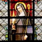 Vitrail de sainte Julienne