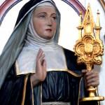 Statue de Ste-Julienne
