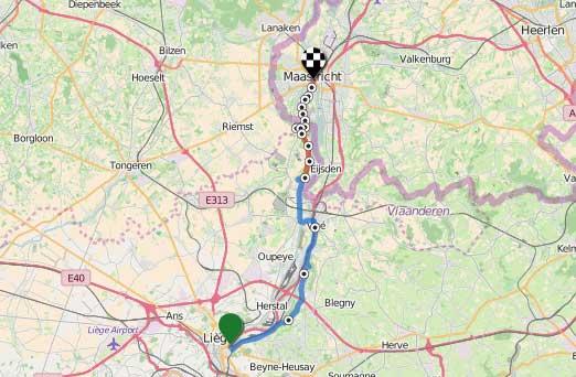 Liege-Maastricht-34km