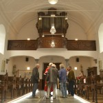 Intérieur et orgues de l'église St-Pierre de Saive