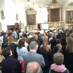 Célébration dans l'église de Saive