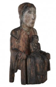 Sedes Sapientia - Vierge d'Evegnée