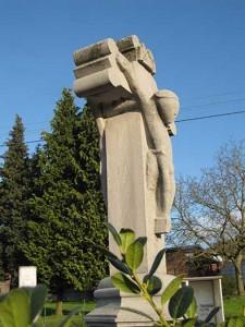 Het kruis van de Dubbelzijdige Christus in Retinne